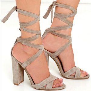 23bf06fef28 Women s Steve Madden Ankle Strap Heels on Poshmark